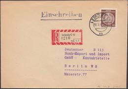 Germany - DDR. Dienstpost Brief Mi. 41yA. Deutsche Buch Export Und Import, LEIPZIG 19.2.1960 - Berlin. - Official