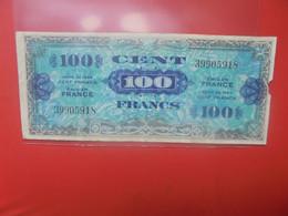 FRANCE 100 FRANCS 1944 Circuler - 1944 Flag/France