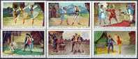 ALBANIA 1971, ALBANIAN NATIONAL BALLET, COMPLETE, MNH SERIES In GOOD QUALITY, *** - Theatre