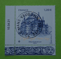 FRANCE 2021   CHASSE ROYALE  ST LOUIS  DREUX (Eure Et Loir)   Timbre Neuf  CACHET ROND  DATE - Used Stamps