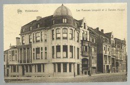 ***  MIDDELKERKE  ***  -  Les Avenues Léopold Et J. Vanden Heuvel  -  Zie / Voir Scan - Middelkerke