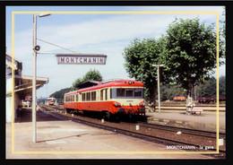 71  MONTCHANIN  -  La  Gare - Altri Comuni