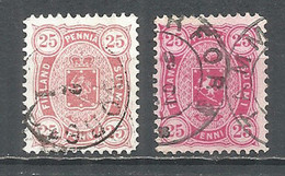 Finland Russia 1882 Used Stamps L 12 1/2 - Used Stamps