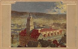 Stuttgart - Rathaus - 1906 - Stuttgart