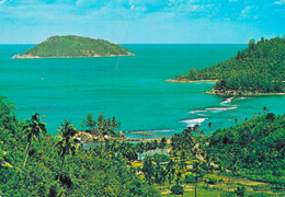 SEYCHELLES / PORT GLAUD BEACH - MAHE (avec PHILATELIE) - Seychelles