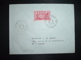 LETTRE TP YT 1642 LENS 0,40 OBL.10-8 1970 24 CHENAUD DORDOGNE - 1961-....