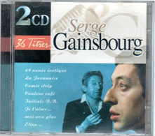 CD  Serge GAINSBOURG    Album Double - Andere - Franstalig
