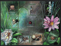 South Africa Spiders MS 2004 MNH SG#MS1556 CV£7.- - Ohne Zuordnung