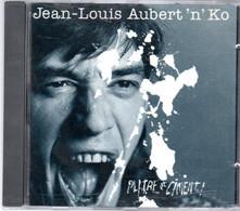 "CD Jean Louis AUBERT 'N'Ko    "" Platre Et Ciment"" - Andere - Franstalig"
