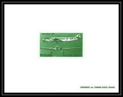 France - PA Poste Aerienne Aviation N°60 épreuve De Luxe (deluxe Proof) Trimoteur Dewoitine 338 - Prove Di Lusso