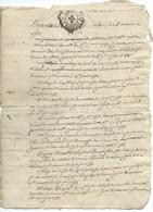 GENERALITES AUVERGNE / ST AMANT PUY DE DOME / 1753 / MONTON / DEFAUTS - Seals Of Generality