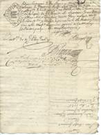 GENERALITES AUVERGNE / 1735 PLAUZAT PUY DE DOME - Seals Of Generality
