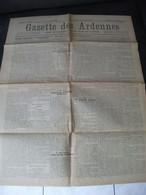 La Gazette Des Ardennes N°498 Charleville 1917 Guerre Sous-Marin Offensive Anglaise Cambrai Révolution Russie Göricke - Champagne - Ardenne