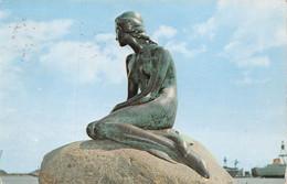 AMORA Prospection - COPENHAGEN (Danemark) La Petite Sirène Timbrée, Oblitérée  1957 ( ͡♥͜ʖ ͡♥) ♥ - Publicité