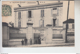 RT29.240  MAISON-ALFORT.GENDARMERIE. VAL-DE- MARNE.N°12 E.L.D. - Barracks