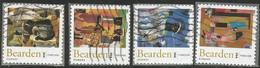 USA 2011 PAINTINGS Of Romare Bearden Cpl 4v Set Sc.# 4566/9 - Usados