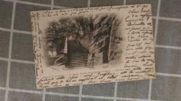 CPA -  13. Env De QUIMPERLE - Le Faouet Escalier De La Chapelle - Quimperlé