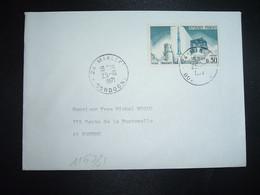 LETTRE TP YT 1464 FUSEE DIAMANT 0,30 OBL.25-10 1971 24 MIALLET DORDOGNE - 1961-....