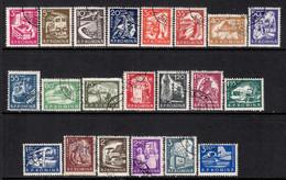 Romania 1960 Mi# 1869-1889 Used - Definitives / Everyday Life - Oblitérés