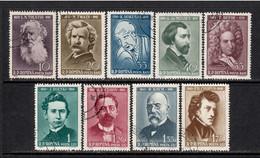 Romania 1960 Mi# 1890-1898 Used - Various Cultural Anniversaries / Famous People - Oblitérés