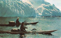 AMORA Prospection -  St. PIERRE-ET-MIQUELON  Kayacs Timbrée, Oblitérée  1958 ( ͡♥͜ʖ ͡♥) ♥ - Publicité