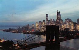 AMORA Prospection -  NEW YORK (U. S. A. ) Vue Aérienne Timbrée, Oblitérée  1958 ( ͡◕͜ʖ ͡◕) ♦ - Publicité