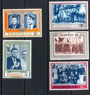 Philippines (pilipinas) - 45 - De Gaulle Et Kennedy SERIE NON EMIS - Kennedy (John F.)