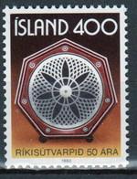 Iceland 1980 Single Stamp Celebrating Broadcasting In Unmounted Mint - Ongebruikt