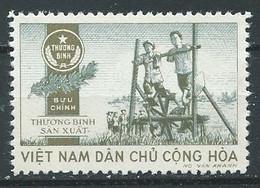 Vietnam Du Nord Timbres De Franchise YT N°3 Noria Neuf Sans Gomme NSG - Viêt-Nam