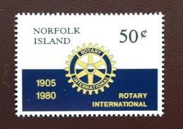 Norfolk Island 1980 Rotary MNH - Isola Norfolk