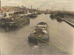 Photo De VARANGEVILLE,   DOMBASLE Canal Et Péniche Gros Plan - Unclassified
