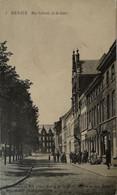 Renaix - Ronse // Rue Laterale De La Gare (veel Volk) 1914 Zeldzaam - Rare - Renaix - Ronse