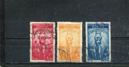 Roumanie 1948 Yt 1022-1024 - Oblitérés