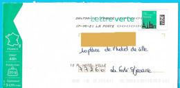 NOUVEAU Marque De Tri Rappel Numéro Et Nom De Rue Imprimé Par La Poste Timbre Flocon Neige Toshiba - Mechanische Stempels (varia)