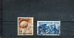 Roumanie 1949 Yt 1082-1083 - Oblitérés