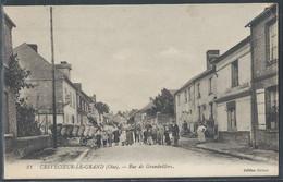 CPA 60 - Crèvecoeur-le-Grand, Rue De Grandvillers - Crevecoeur Le Grand