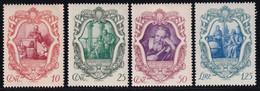 Regno D'Italia Galilei 1942 Serie Completa Sass. 462/465 MNH** Cv 7.50 - Neufs