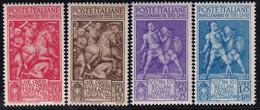 Regno D'Italia Tito Livio 1941 Serie Completa Sass. 458/461 MNH** Cv 20 - Neufs