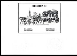 Belgique    ZNE 6   Belgica  82 - Zwarte/witte Blaadjes