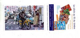 Carte Postale Transport Mobylette - Documents De La Poste