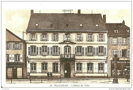 Haguenau. L'Hotel De Ville. - Haguenau