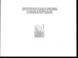 Belgique    ZNP 12  Mémorial De Breendonk - Zwarte/witte Blaadjes