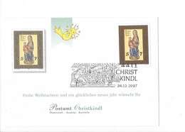 27411 - Christkindl 1997 Carte 24.12.1997 - Christmas
