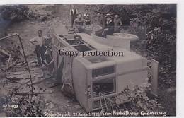 Mosnang - Auto-Unglück V. 27.8.1922 Beim Freihof Dreien - Fotokarte - Grossaufnahme - Top     (P-340-10224) - SG St-Gall