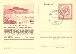 Austria Postal Stationary 1976 Innsbruck Olympic Games - Innsbruck Used Innsbruck (G134-48) - Hiver 1976: Innsbruck