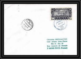 2033 Antarctic Russie (Russia Urss USSR) Lettre (cover) 07/11/1977 Cachet Bleu - Onderzoeksstations