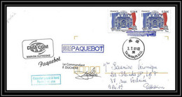 2700 ANTARCTIC Terres Australes TAAF Lettre Cover Dufresne 2 Signé Signed Duchene Taiwan 3/7/2007 N°471 - Brieven En Documenten