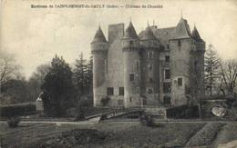 DESTOCKAGE BON LOT 100 CPA  CHATEAUX ( France) Toutes Scanées - 100 - 499 Cartoline