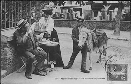 MONTMORENCY - Une Douche Improvisée - GROS PLAN - Montmorency