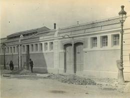 170721 PHOTO E BRUCHON QUAI ST VINCENT - 69 RHONE LYON 19 MAI 1914 NOUVELLE GARE DE LA CROIX ROUSSE TRAIN CHEMIN DE FER - Lyon 1